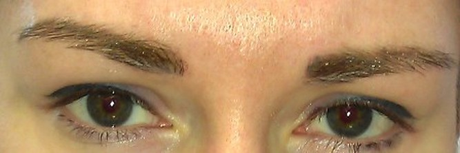 Permanent Makeup Correction , eyebrows tattoo fix, cosmetic