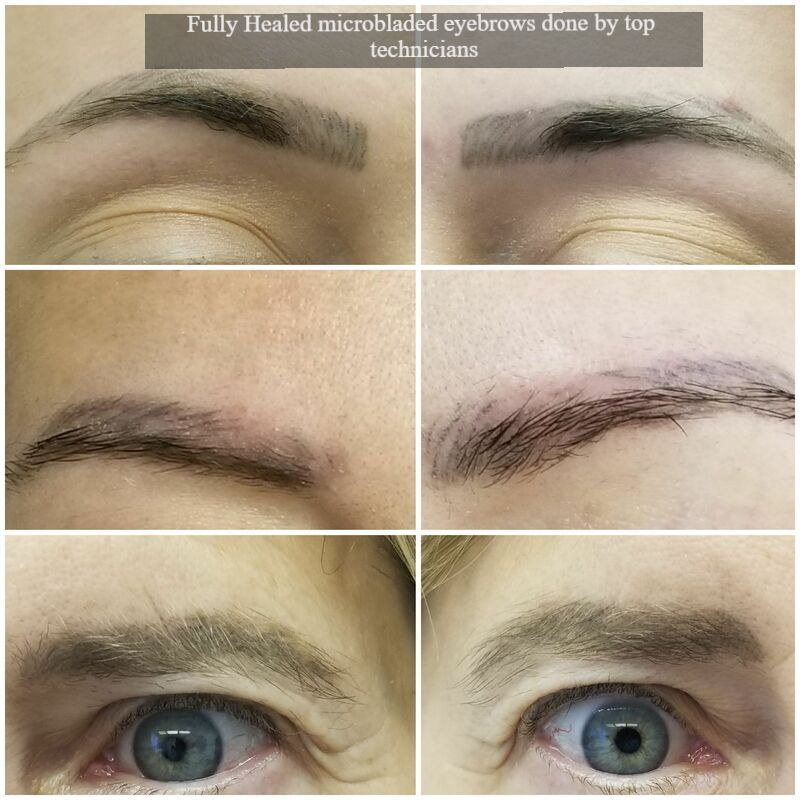 The difference between Microblading vs Soft tap vs Ombre tattoing