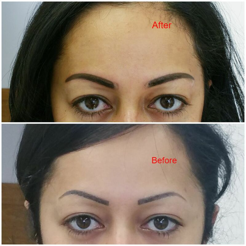 Permanent Makeup Correction , eyebrows tattoo fix, cosmetic tattoo
