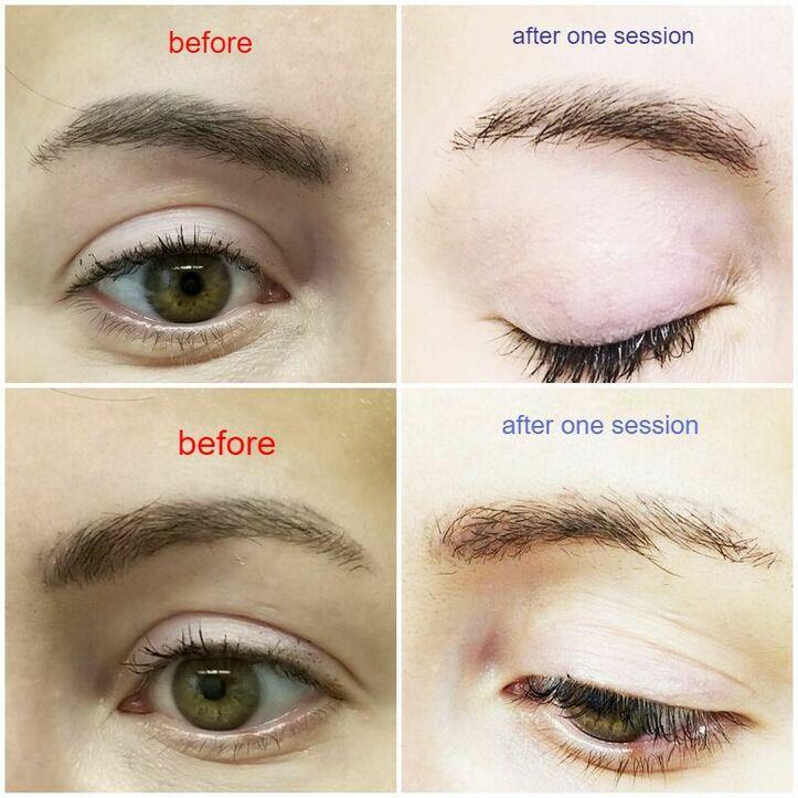 Permanent Makeup Correction , eyebrows