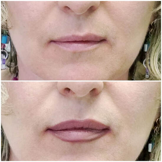 Best Permanent eyeliner and lips tattoo in Chicago portfolio